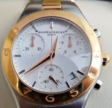 Baume & Mercier Linea Ladies' Two Tone Chronograph Stainless Steel Watch