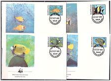 1225 Maledives 1986 WWF Fish FDC