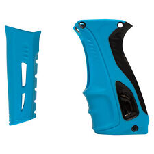 RSX Shocker Paintball Grip Kit - Cyan / Black
