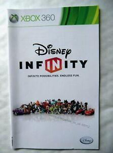 55112 Instruction Booklet - Disney Infinity - Microsoft Xbox 360 (2013)