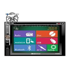 "SoundStream 6.2"" Touchscreen In-Dash 2-DIN Multimedia DVD Player VR-622HB"