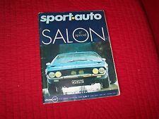 Magazine SPORT AUTO N°93 SALON  / LAMBORGHINI Espada / MERCEDES C111 / F1 //