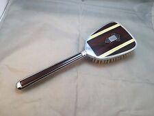 """Vintage Art Deco """"Golden Wheel"""" Hairbrush Vanity Dresser."""