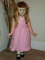 "Rare, original 1959 vintage, flirty Madame Alexander JANIE doll 36"" LARGE size"