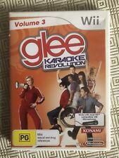 Glee Karaoke Revolution Vol 3: Nintendo Wii / Wiiu : Complete With Booklet: VGC!