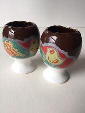 Vintage Retro. Cadbury's Creme Egg. 2 x Egg Cups