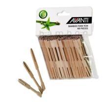 Avanti - 9cm Bamboo Fork 100pc Pack