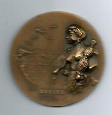 Spinning Distaff / Animal / Dairy Cattle / Cow Teats / Milk / Bronze Medal! M25