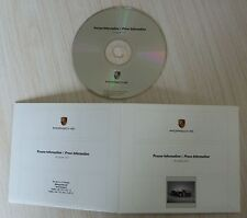 CD ROM PORSCHE PRESSE INFORMATION RS SPYDER 2007