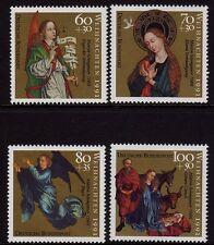 Germany 1991 Christmas Stamps SG 2427-2430 MNH