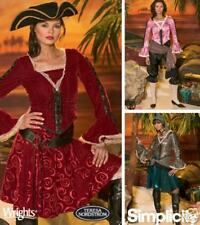Woman Pirate Costume Pattern 14-22 Simplicity 4914 OOP