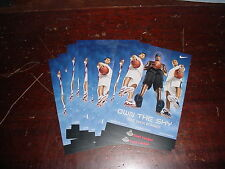 Nike Shox Bomber Foot Locker Promo Cards Lot of 11  O'Neal  Marion Kirilenko