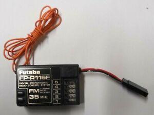 FUTABA FP-R115F 5 CHANNEL RECEIVER 35MHZ GOOD  CONDITION