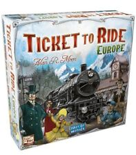 Ticket to Ride Europe Board Game - Brand New Sealed