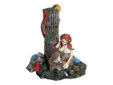 Mermaid & Treasure Chest Decoration Ornament for Aquarium Fish Tank