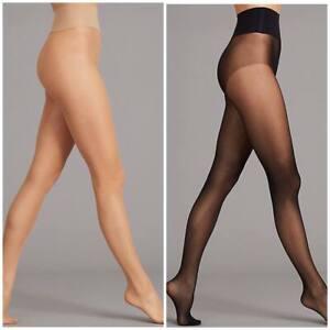 Stockings Tights Women Shiny Gloss Glossy Sheer Shimmer Hosiery Small Plus Size