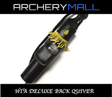 HTA DELUXE LEATHER BACK QUIVER
