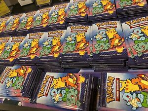 McDonalds 25th Anniversary Pokemon Card pack 2021 1x Holo Every Pack!