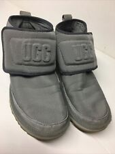 UGG NEUMEL UGG MOLDED LOGO GRAY MEN'S ANKLE BOOTS SIZE 11 1110810 PREOWNED