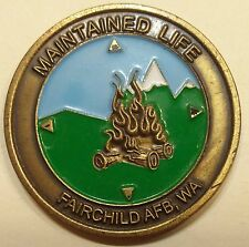 Survival Evasion Resistance & Escape SERE Graduate Air Force Challenge Coin