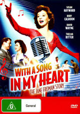 WITH A SONG IN MY HEART :THE JANE FROMAN STORY - DVD - UK Compatible - sealed