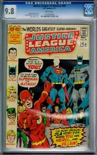 JUSTICE LEAGUE OF AMERICA #89 CGC 9.8 WHITE PAGES HIGHEST GRADED