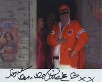 DOM DELUISE SIGNED AUTOGRAPHED CANNONBALL RUN COLOR 8X10 PHOTO RARE!!