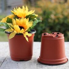 10pcs Flower Pots Mini Flowerpot Garden Unbreakable Plastic Nursery Pots Tool