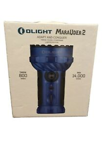 Olight Marauder 2 BLUE Limited Edition - Brand New Sealed Sold Out