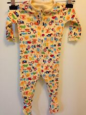 Baby Girls Toddlers Children's Place Yellow One-Piece PAJAMAS PJs Sz 6-9 Months