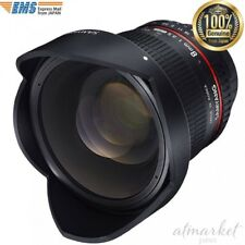 SAMYANG single focal fisheye lens 8mm F3.5 APS-C Nikon AE 1121903101 from JAPAN