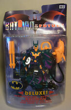 Vintage 90s Hasbro Action Figur BATMAN of the Future in Deluxe Neon-Rüstung 1999