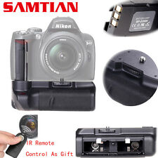 Nikon D3000 D40 D40X D60 D5000 Pro Battery Grip DSLR Cameras + IR ML-L3