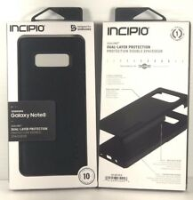INCIPIO DualPRO Hard Shell Drop Protection Case for Samsung Galaxy Note 8 Black