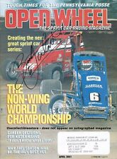 BROOKE TATNELL AUTOGRAPHED APRIL 2001 OPEN WHEEL SPRINT CAR RACING MAGAZINE