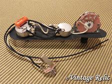 Upgrade wiring kit Pre-wired fits Fender Telecaster Orange Drop .047 uF tone cap