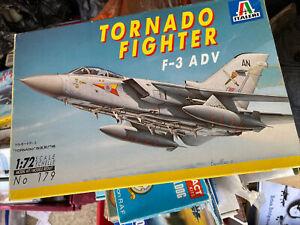 Italeri 179 - F3 Adv  Tornado - 1/72 Model Kit Sold As Spares