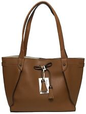 NWT Jessica Simpson Woman's Tote W/Tassel, Saddle Color MSRP: $138.00
