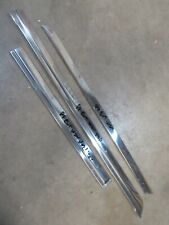 1982 Jeep J 10 truck exterior window frame trim molding pieces stainless P