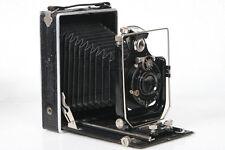 9x12 Folding Plate Camera w/ Busch Leukar 150mm f6.8 Lens