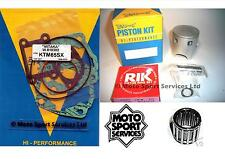 KTM 65 98-08 SX Mitaka Top End Rebuild Kit Piston (B) Gasket Small End Bearing