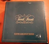 VINTAGE 1983 TRIVIAL PURSUIT MASTER GAME GENUS EDITION COMPLETE LOVELY PARKER