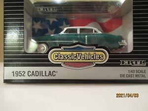 1:43 Ertl 1952 Cadillac Series 62 Sedan