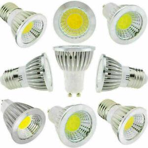 E27 GU10 MR16 6W 9W 15W Lamp Dimmable Cree COB LED Spotlight Epistar Bulb tw