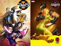 Fallen Angels #6 DX 2 Variant Bundle (Marvel 2020) Witter Yoon Dark Phoenix 40th