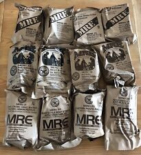 Lot Of 4 US Military MRE's 2019 Case A/B Random Draw, FREE SHIPPING! See Photos!