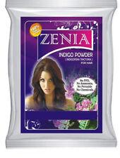 1000g Zenia Pure INDIGO POWDER HAIR COLOR DYE GREY COVER 100% pure