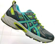 103e2e2c8e34ed ASICS Gray Teal Athletic Sneakers Shoes T5N8N Women s 8.5   EUR 40