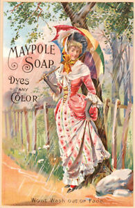 Vintage Maypole soap Advertising art poster print Home Decor Wall Hangings A4