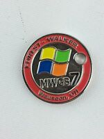 Pathtag Geocoin Geocache Tag #17673 Forest-Walker Goes to MWGB, Wauseon, OHIO